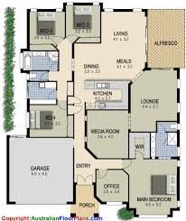 floor plans for 4 bedroom houses simple 4 bedroom house designs