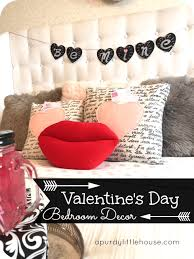 Valentines Day 2016 Room Decor by Valentine U0027s Day Bedroom Decor A Purdy Little House