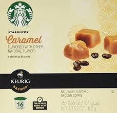 starbucks caramel k cups 16 0 35 oz grocery gourmet
