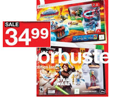 super target black friday sale 34 99 infinity 3 0 and skylanders super chargers starter packs at