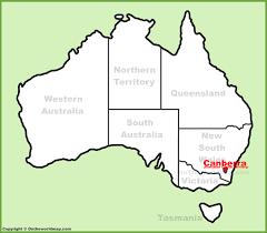australia map capital cities canberra maps australia maps of canberra capital city of