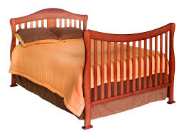 davinci parker 4 in 1 convertible crib in cherry w toddler rails