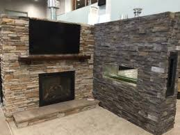 Stacked Stone Outdoor Fireplace - des moines home u0026 remodel show 2014 fireplace stone u0026 patio