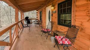 cabin porch carefree cabins llc hocking hills log cabin rentals