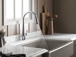 fancy kitchen faucets kitchen fancy kohler kitchen faucets simplice vibrant stainless