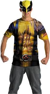 wolverine shirt and mask costume halloween costumes