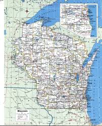 Map Of Usa And Cities by Topographic Map Of Wisconsinfree Maps Of North America