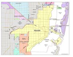 Miami Dade Zip Code Map by List Of Neighborhoods In Miami Wikipedia