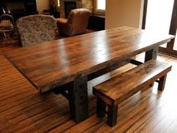 bright inspiration reclaimed wood farmhouse table dining tables