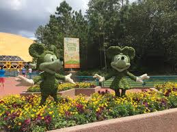 Mickey Mouse Topiary Why You Should Visit Epcot In Springtime
