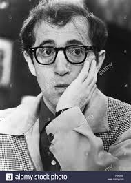 woody allen promotional photo of us actor and film producer stock