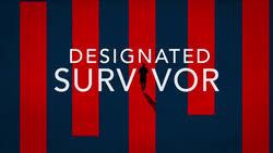 designated survivor index designated survivor tv series wikipedia