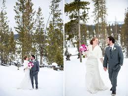 Weddings In Colorado A Snowy Mountain Wedding In Colorado Luxe Mountain Weddings Magazine