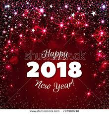 happy new year s greeting cards happy new year 2018 greeting card stock illustration 728960218