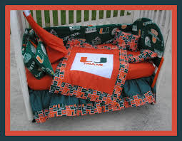 Crib Bedding Etsy by Sale New 7 Piece Baby Crib Bedding Set In Miami Hurricanes