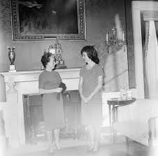 White House Furniture Collection Tablecloth Presented To First Lady Jacqueline Kennedy Jbk By Mme