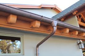 decor u0026 tips home exterior design with copper gutters and radius