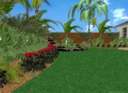 Tropical Backyard Ideas Small Backyard Tropical Landscaping Ideas The Garden Inspirations