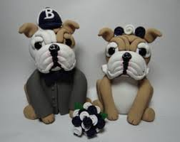bulldog cake topper bulldog cake topper etsy