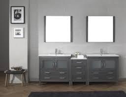 gray double sink vanity 72 quen double vessel sinks vanity gray72