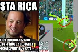 Costa Rica Meme - los memes contra keylor navas y costa rica tras perder con m礬xico