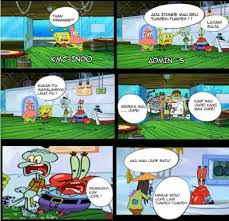 Meme Komik Spongebob - inspirational meme spongebob indonesia meme komik indonesia