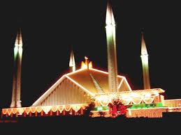 Pakistani mosque