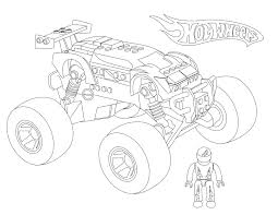 monster jam coloring pages awesome madusa monster truck kids amp