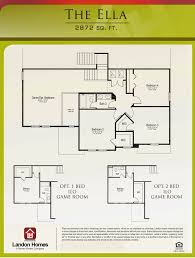 landon homes featuring the u0027ella u0027 floor plan benton lakes is