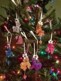 my pony ornament set set of 4 balls my