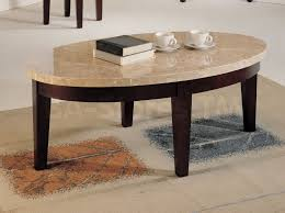 marble wood coffee table oval marble top coffee table captivating with decoration marble and
