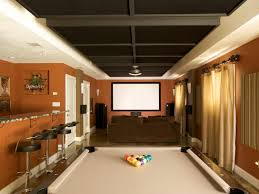 Floor Basement Flooring Options Epoxy With Brown Wall And