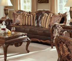Michael Amini Oppulente Collection Lavelle Melange Living Usa Warehouse Furniture