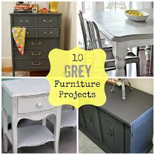 round up monday 10 grey furniture projects fun home things