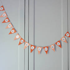 halloween bunting by daisyley designs notonthehighstreet com