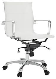 White Modern Desk Chair Regis All Mesh Low Back Conference Office Chair Modern Office