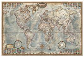 Array Map 4000 Piece Puzzle World Map By Educa Challenging Fun Eduational