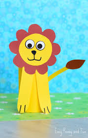 Paper Roll Crafts For Kids - paper roll lion craft toilet paper roll crafts easy peasy and fun