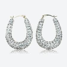 9ct gold earrings gold earrings white gold earrings gold hoop earrings
