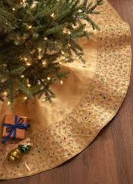 gold tree skirt scallop tree skirt by seybert at neiman christmas
