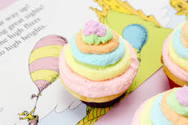 dr seuss cupcakes the places you ll go dr seuss cupcakes recipe