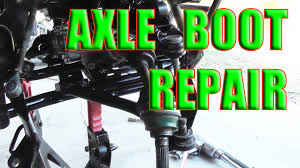 kawasaki 400 bayou 4x4 front axle repair 1993 1999 youtube