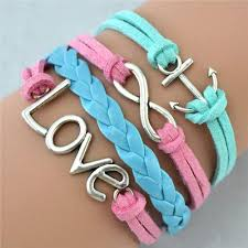 love braided bracelet images Multilayer braided bracelets leather wax cord love buycoolprice jpg