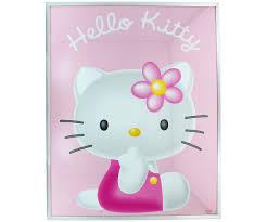 Tirelire Hello Kitty by Grand Cadre Photo En Verre Affiche Hello Kitty Portrait 40x50cm 3749