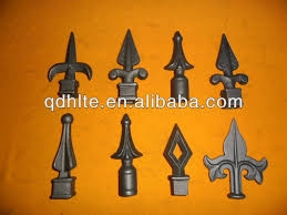 ornaments spear rail spear point for wrought