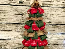 burlap christmas tree burlap christmas tree home decor the creative studio