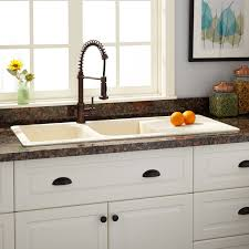 kitchen sinks composite 46 owensboro double bowl drop in granite composite sink with