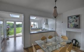 simple kitchen extension interior design