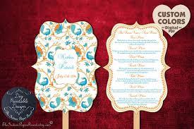 fan ceremony programs fan wedding program exles picture ideas references