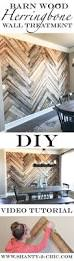 Home Design Suite Tutorial Videos by Diy Barn Wood Herringbone Wall Treatment And A Giveaway